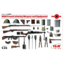 French Infantry Weapon & Equipment, WWI 1/35