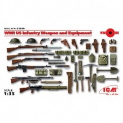 US Infantery Weapon And Equipment, WWI, 1/35