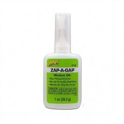Colle ZAP-A-GAP CA+, Viscosité Moyenne / Medium Viscosity, 28,3 gr