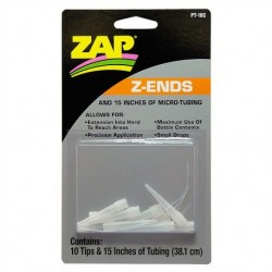 """ZAP Z-Ends 10 ends & 12"""" tubing"""