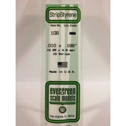 Baguette / Strip 0.25x4.8 mm (10p.)