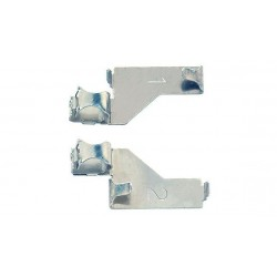 Bornes de raccordement, unipolaires / Track feed clips, 2 x 1 pole N