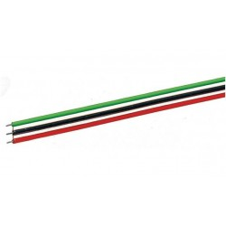 Câble plat 3 pôles / Flat 3-pole cable H0