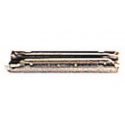 "20 éclisses métalliques ""Click"" metal rail joiners H0"