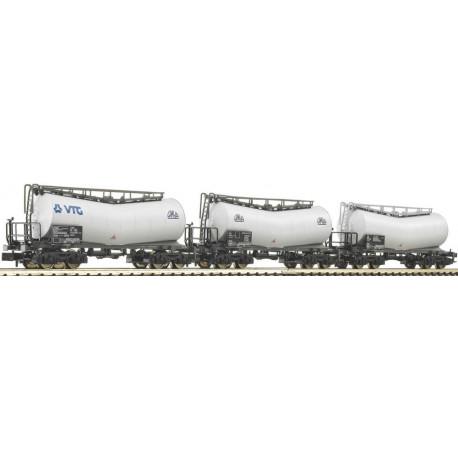 Set de 3 wagons citerne Omya-N-V-DB