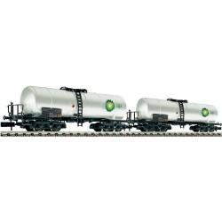 Set de deux wagons citerne BP-N-V-OBB