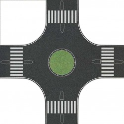 Rond-point / Roundabout H0