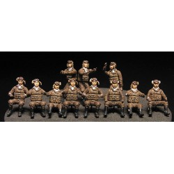 Set Equipage Japonais Naval / Japanese Navy Airmen set 1/72