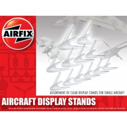 Assortiment pieds pour avions / Aircraft Display Stand Assortment 1/72-1/48